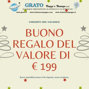Buono Regalo € 199